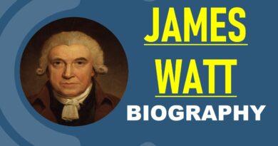 James Watt -Biography, Inventions, Steam Engine, & Facts