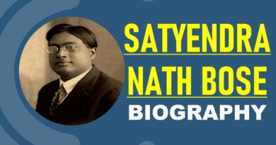 Satyendra Nath Bose – Biography, Education, Works & Books