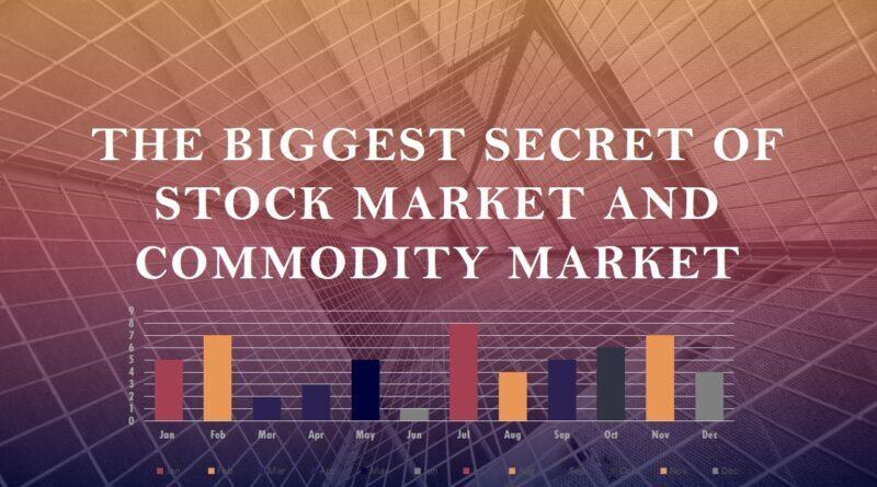 शेयर बाजार और कमोडिटी बाजार का सबसे बड़ा रहस्य