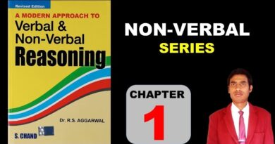 Non Verbal Reasoning by R S Aggarwal Book