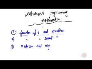Advance Engineering Mathematics - Introduction and Basic Formula Book