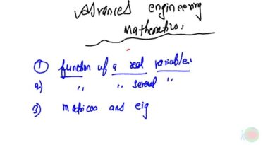 Advance Engineering Mathematics - Introduction and Basic Formula Book