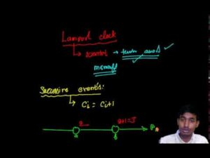 Lampor't Clock and Vector Clock With Algorithm in Distributed System