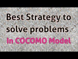 Best Problem solving strategies in COCOMO Model For cocomo calculator and cocomo software