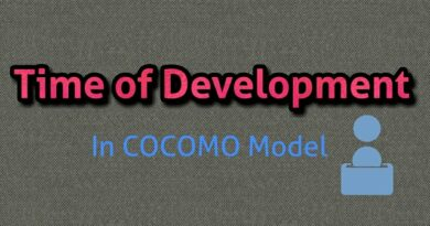 Development Time Calculation in cocomo model: basic cocomo model cocomo model example