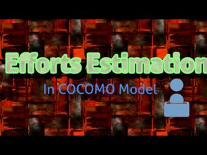 Efforts Calculation In cocomo model effort estimation models effort estimation models of cocomo tool