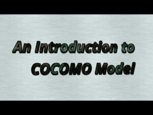 Software Engineering in Hindi - An Introduction to COCOMO model
