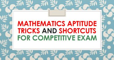 Mathematics Aptitude Tricks and Shortcuts For Competitive Exam SSC, Bank, Railway and Other Exams